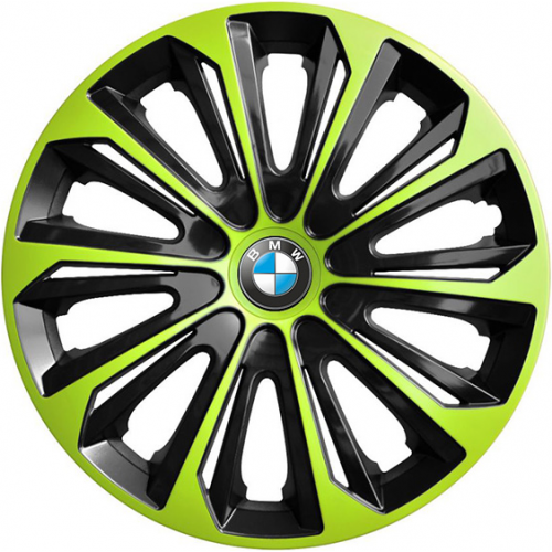 "PUKLICE PRE BMW 16"" STRONG green/black 4ks"