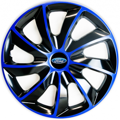"PUKLICE PRE FORD 15"" QUAD blue/black 4ks"