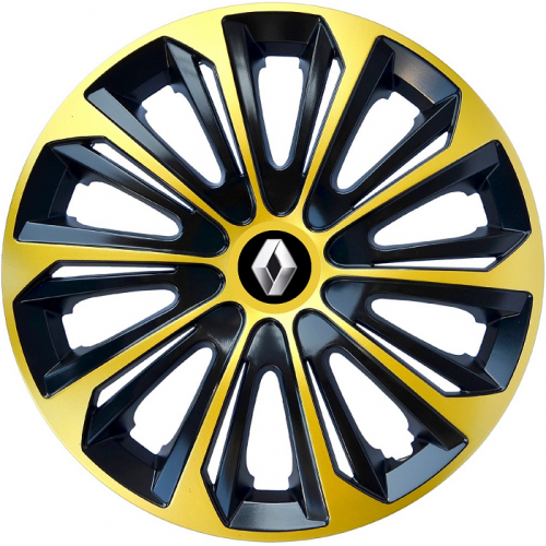 "PUKLICE PRE RENAULT 16"" STRONG extra gold/black 4ks"