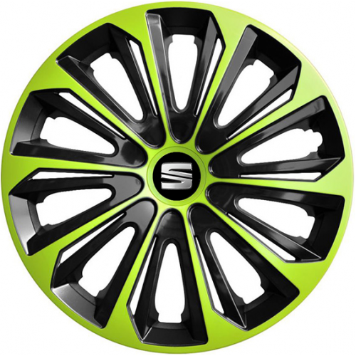 "PUKLICE PRE SEAT 15"" STRONG green/black 4ks"