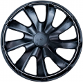 "PUKLICE PRE FIAT RED 14"" DRACO red/black 4ks"
